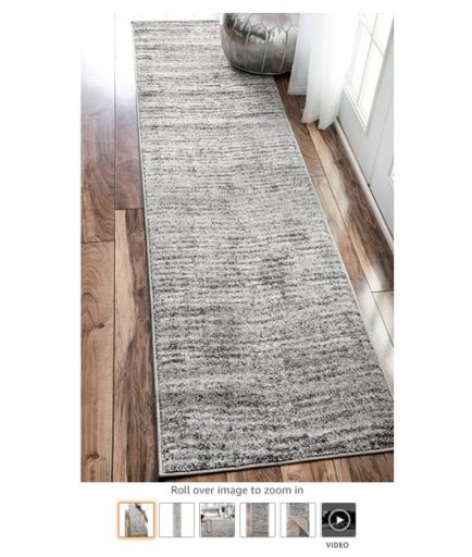 Best Rugs For High Traffic Areas 4 nuLOOM Ripple Contemporary Sherill Runner Rug - Copy