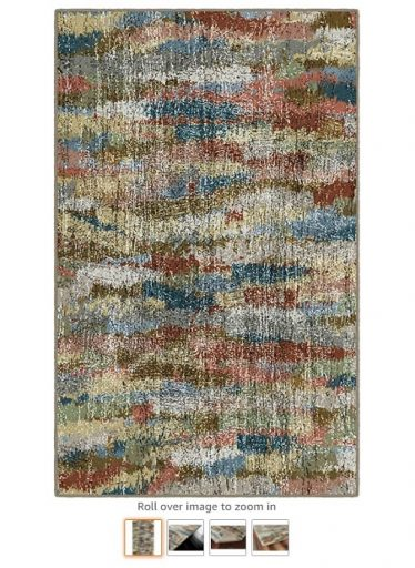 Best Rugs For High Traffic Areas 8 Brumlow Mills Rustic Earthtones Vintage Abstract Area Rug - Copy