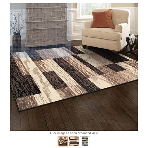 Best Rugs For High Traffic Areas 9 Superior Modern Rockwood Collection Area Rug - Copy
