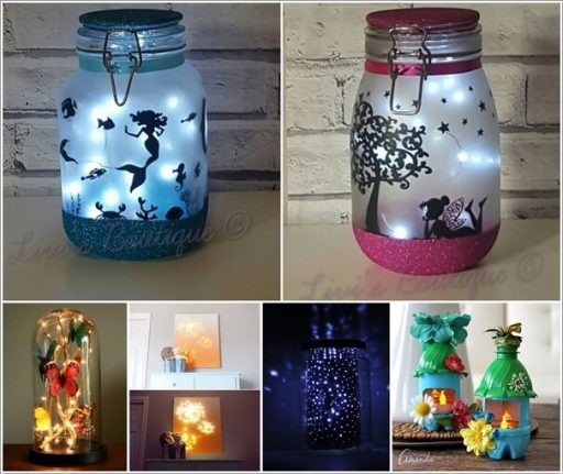 Crafty Ways to Use Light as Decor Elements DIY Light Projects
