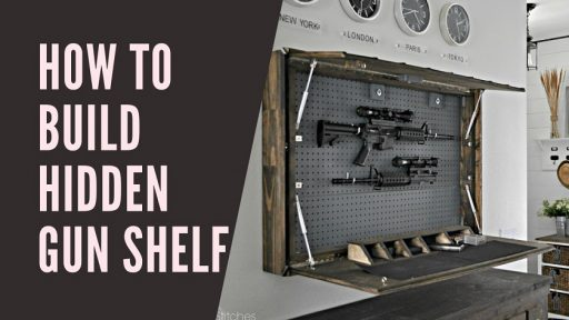 How To Build Hidden Gun Shelf