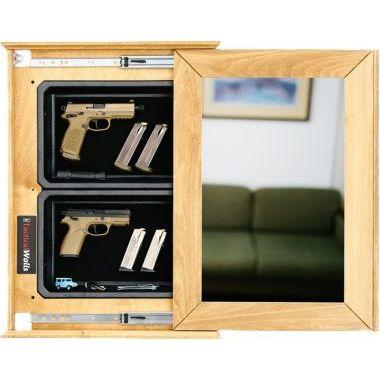 Ideas For Handgun Storage-concealment-mirror-with-magnetic-or-rfid-lock