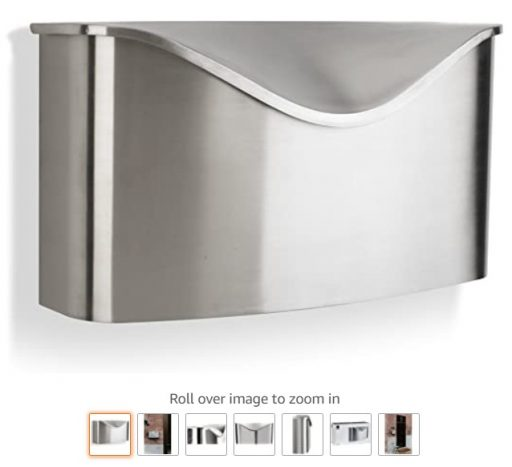 best wall mount mailboxes 4 Umbra 460322-592 Postino Wall-Mount Mailbox