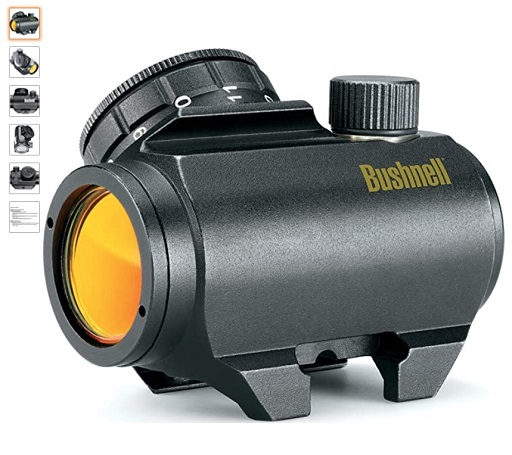 Best Ar-15 Scopes 5 Bushnell Trophy TRS-25 Red Dot Sight Riflescope, 1x25mm, Black - Copy