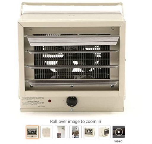 Best Electric Garage Heaters 1 Fahrenheat FUH Electric Heater For Garage