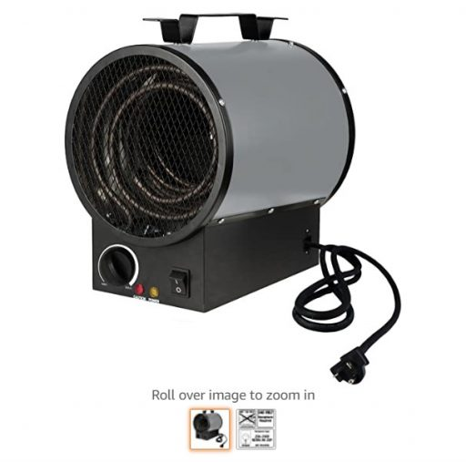 Best Electric Garage Heaters 10 King Electric PGH2440TB 4000-watt 240-volt Garage Heater with Mounting Bracket