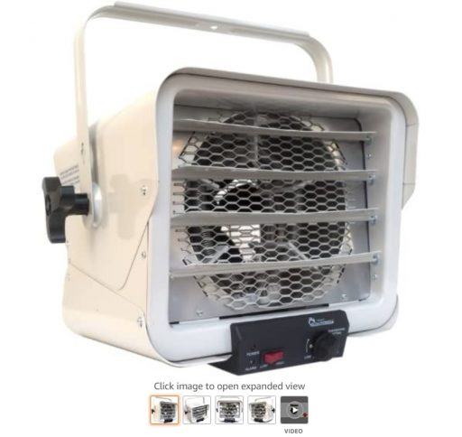 Best Electric Garage Heaters 7 Dr. Heater DR966 240-volt Hardwired Shop Garage Commercial Heater