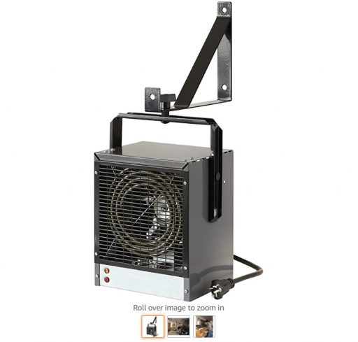 Best Electric Garage Heaters 9 Dimplex DGWH4031G Garage and Shop Large 4000 Watt Forced Air, Industrial, Space Heater in