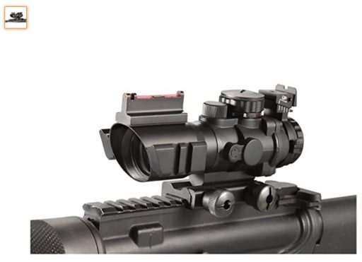 Best Fixed Power Scopes 2 Ade Advanced Optics 4x32 Fixed Power Green Blue red Illuminated Reticle Compact Rifle Scope