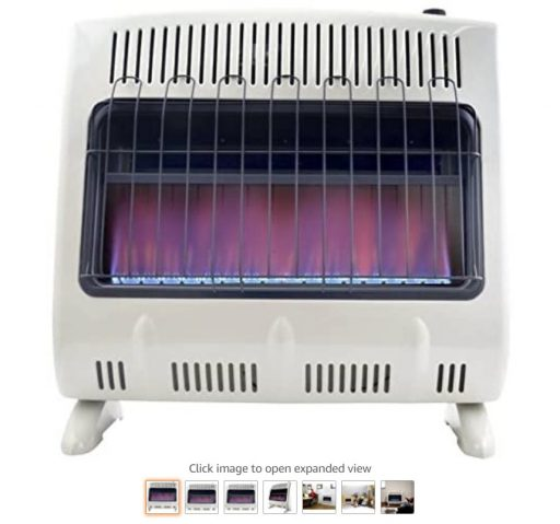 Best Gas Wall Heaters 6 Mr. Heater 30,000 BTU Vent Free Blue Flame Natural Gas Heater MHVFB30NGT