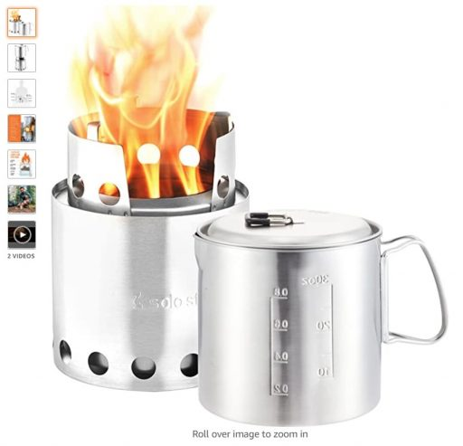 Best Wood Burning Camping Stoves 10 Solo Stove Pot 900 Combo Ultralight Wood Burning Backpacking Cook System