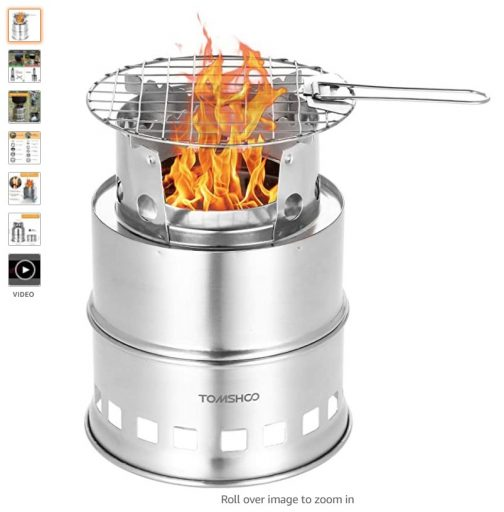 Best Wood Burning Camping Stoves 2 Tomshoo Camping Stove Wood Stove For Hiking Picnic Bbq