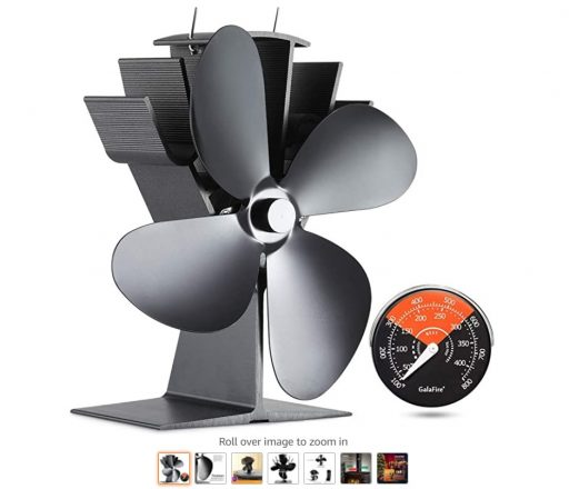Best Wood Stove Fans 1 Galafire 122 Degrees Wood Stove Fan