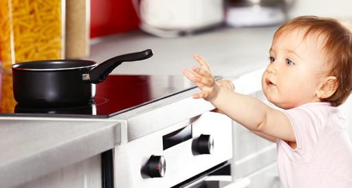 Expert Tips to Keep Your Baby Safe 7 Keep Your Child Safe From the Kitchen Area
