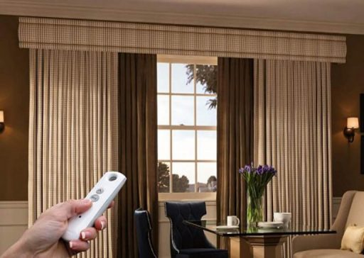 Must-Have Gadgets for Your Home Security System 5 Motorized Curtains