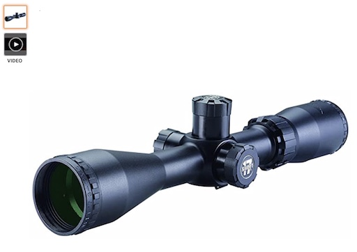 Best 3 Gun Scopes 10 BSA 3-12*40 Sweet 17 Rifle Scope With Multi Grain Turret