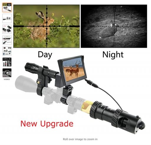 Best Night Vision Scopes 4 BESTSIGHT DIY Digital Night Vision Scope for Rifle Hunting with Camera