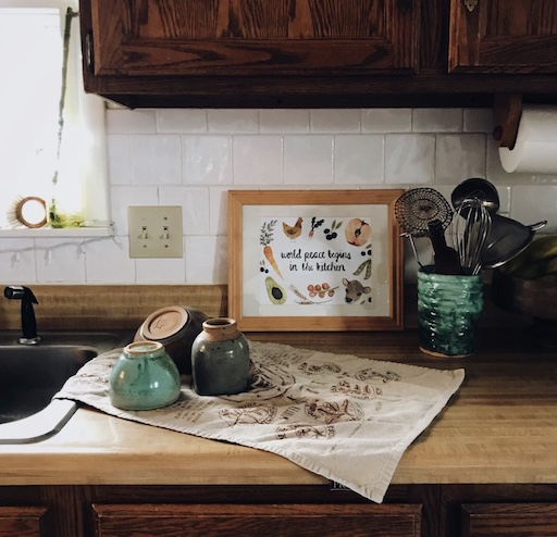 How To Spruce Up Your Kitchen The Peace of Art