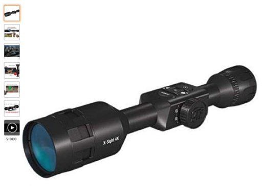 best scope for ruger 10 22 2 ATN X-Sight 4K Pro Smart Day Night Rifle Scope - Ultra HD 4K technology with Superb Optics
