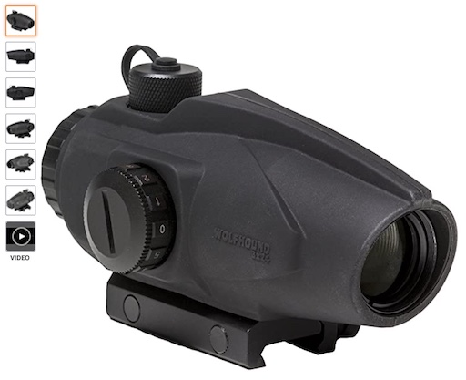 best scopes for 300 blackout 3 Sightmark Wolfhound 3*24 HS 300 Weapon Sight