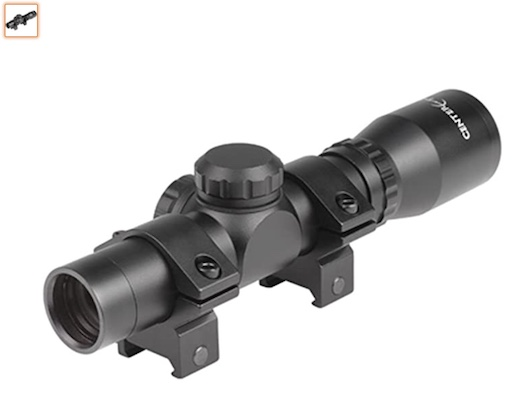best scout scope 1 Centerpoint Duplex Scope With Picatiny Mount