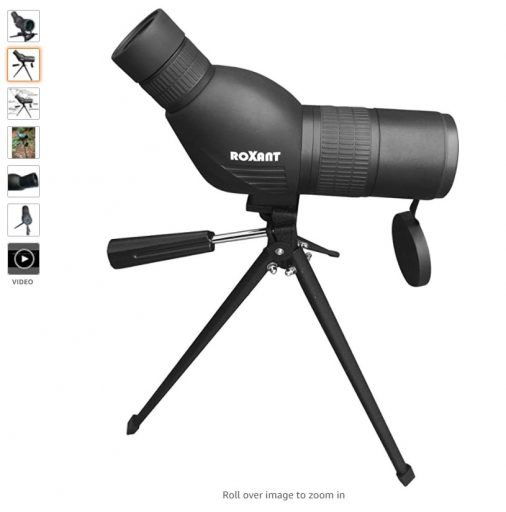 best spotting scopes 6 Roxant Authentic Blackbird High Definition Spotting Scope with Zoom