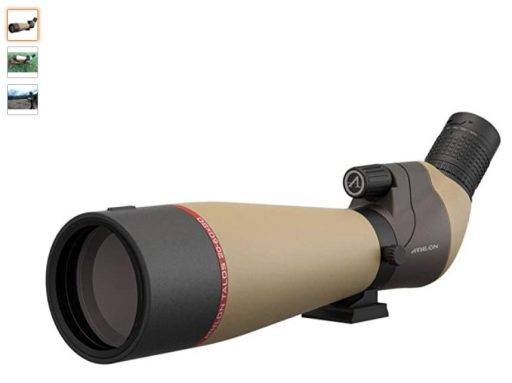best spotting scopes 9 Athlon Optics Talos 20-60x80 Spotting Scope - Straight, Tan