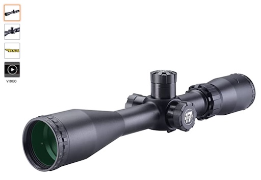 Best Scopes For 17HMR 5 6-18*40mm, Duplex Reticle Scope