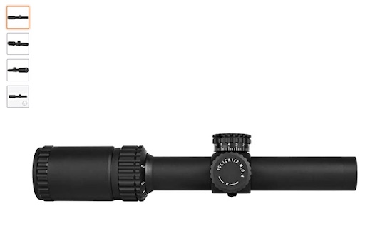 Best Low Power Variable Optic 10 Trinity Force Legacy 1-6*24 Scope