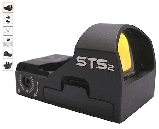 Best Red Dot Sights 6 C-more Systems STS2 Super Bright Red Dot Sight