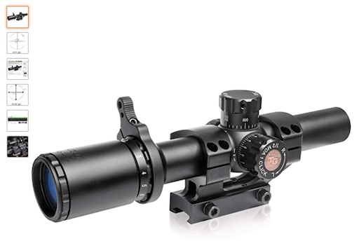 Best Scopes For Ruger AR 556 6 Truglo True Brite 30 Series Scope