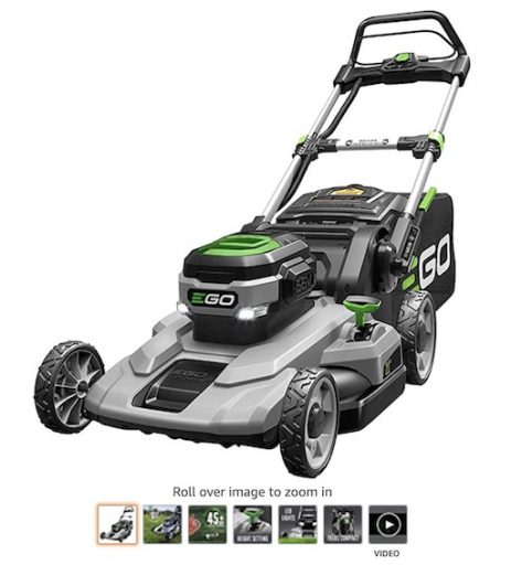 Best Battery Powered Lawn Mowers 10 Ego Power+ LM2100 21 Inch 56 Volt Lawn Mower
