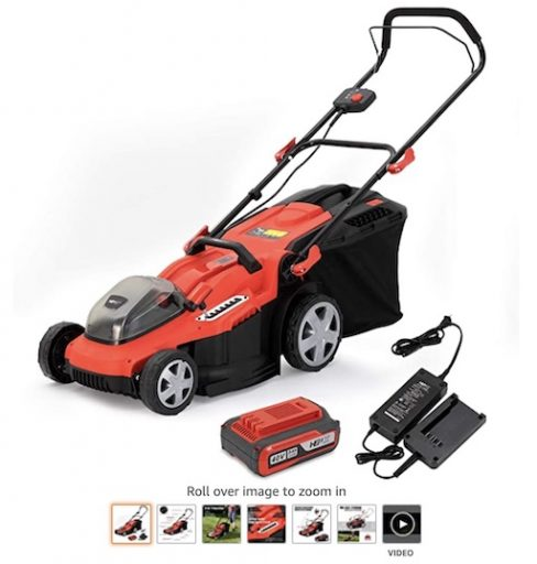 Best Battery Powered Lawn Mowers 5 Henx 16 Inch Cordless Lawn Mower