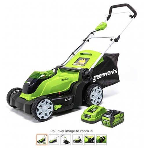 Best Battery Powered Lawn Mowers 7 Greenworks G Max 40v Brushed Lawn Mower