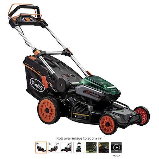 Best Battery Powered Lawn Mowers 8 Scotts Outdoor Power Tools 60362s Lawn Mower