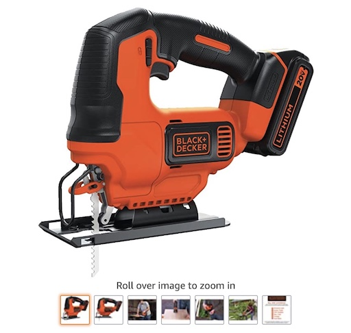 Best Battery Powered Tools 3 Black And Decker Jig Saw With Battery