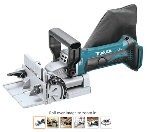 Best Battery Powered Tools 6 Makita XJPO3Z 18v LXT Lithium Cordless Plate Joiner