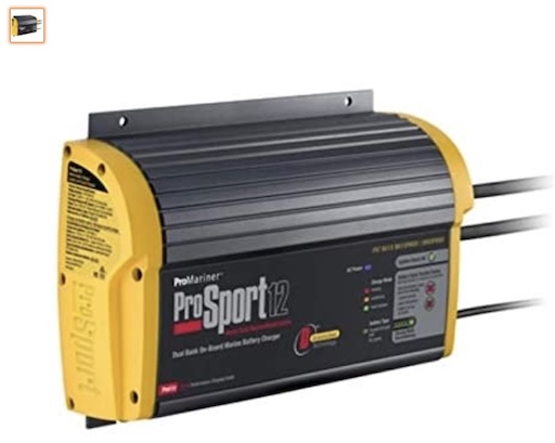 Best Heavy Duty Battery Chargers 7 Promariner 43012 Prosport Two Bank Generation Battery Charger