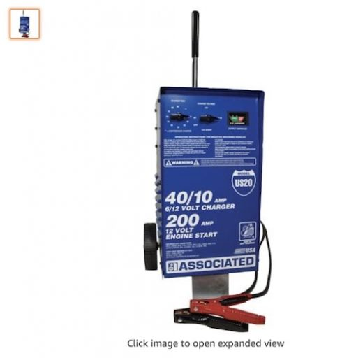 Best Heavy Duty Battery Chargers 8 Associated Equipment US20 Volt Value Battery Charger