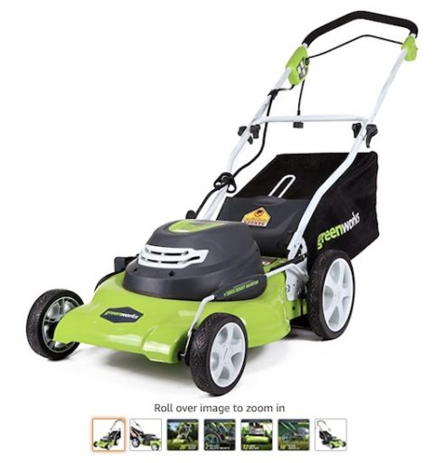 Best Small Lawn Mowers 1 Greenworks 20 Inch 3 In 1 12 Electric Lawn Mower