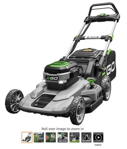 Best Small Lawn Mowers 10 Ego Power+ LM2100 21 Inch Cordless Lawn Mower