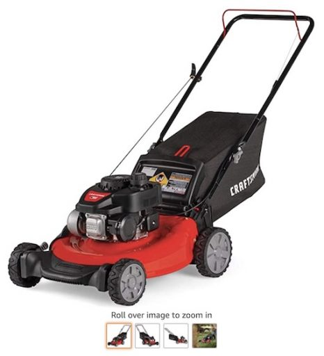 Best Small Lawn Mowers 6 Craftsman M105 140cc Gas Powered Lawn Mower