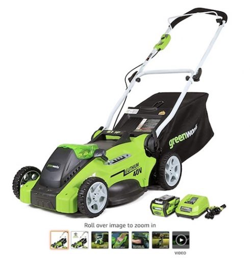 Best Small Lawn Mowers 8 Greenworks G Max 40 V 16 Cordless Lawn Mower