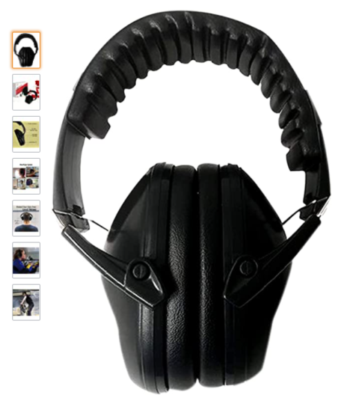 Rebel Tactical Premium Ear Muffs Low Profile For Sleeping