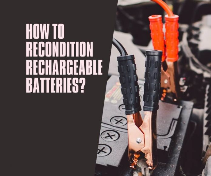 How to Recondition Rechargeable Batteries (2)