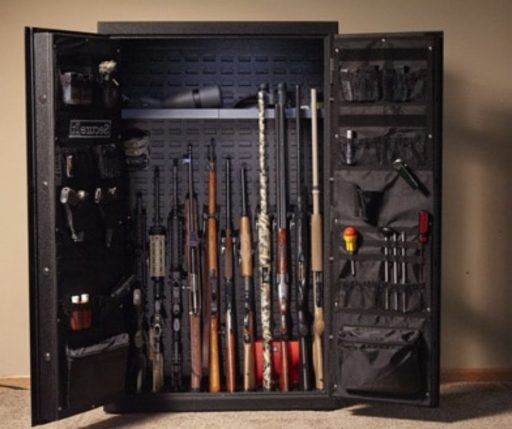 A gun safe of this size will break your back for sure.