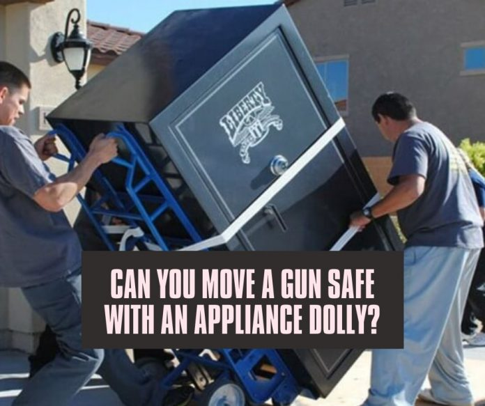 Can You Move A Gun Safe With An Appliance Dolly (2)