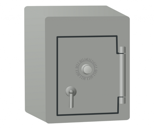 The gun safe will keep your valuables safe!