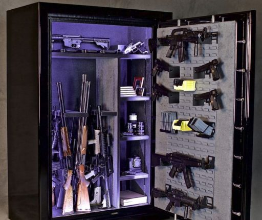 What should the humidity be in a gun safe